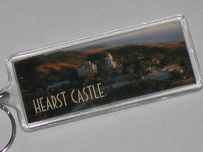Scenic View Of Hearst Castle Keychain CA