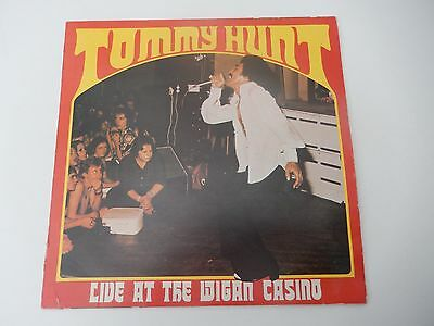 Tommy Hunt Live at Wigan Casino 1976  NORTHERN SOUL LP VINYL