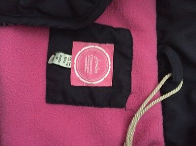 Joules Navy Waistcoat With Pink Fleece Lining