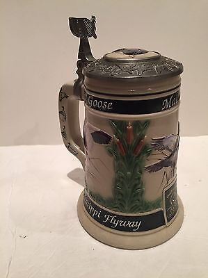 Budweiser Official Beer of Ducks Unlimited Waterfowl Flyway Series Stein CS384