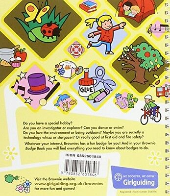 The Brownie Guide Badge Book (Spiral-bound) - FAST EXPRESS DELIVERY!!