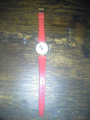 Exceptional Mickey Mouse Bradley Registered Swiss Made Wrist Watch LOOK!