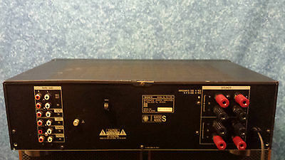 Sony Stereo Integrated Amplifier Ta - F 190        .