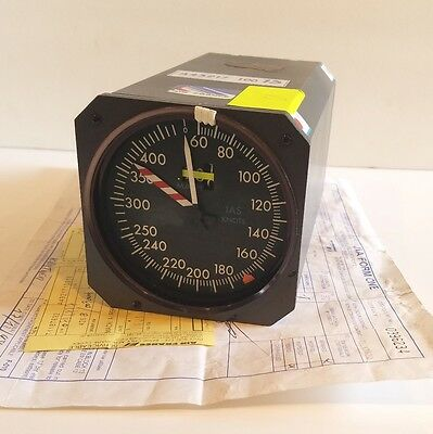 Boeing 747 Aircraft Airspeed Indicator P/N A43217100013