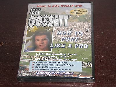 Learn How To Play Football Dvd Special Teams Coach Punt Punting Coaching