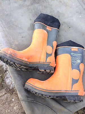 Husqvarna 573955843 Chainsaw Safety Boots Size  (43)