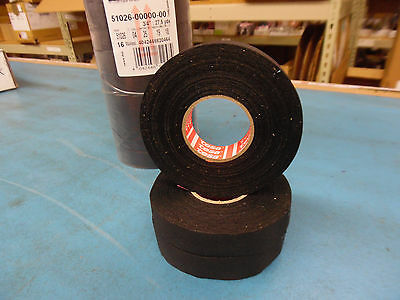TESA  Wire/Cable Harness Tape 19mm x 25m Adhesive Cloth- 4pkg -$19.50 FREE SHIP