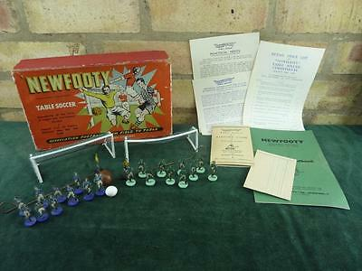 Nice vintage 1950's Newfooty set Celluloid players seems complete Subbuteo