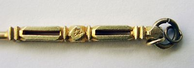 CHINESE Silver GILT Pendant ANTIQUE Pick