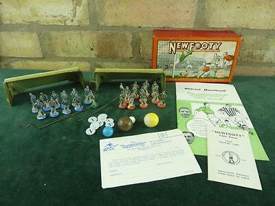 Nice vintage 1950's Newfooty set Card players seems complete Subbuteo