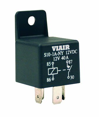 Viair 93943 '40 Amp' 24V Relay with Molded Mounting Tab