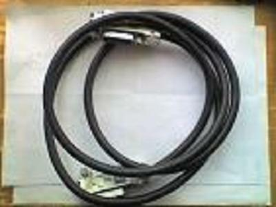 RS 489-613 GPIB IEEE488 Metal Connector 1 Metre Cable - USED - UNTESTED