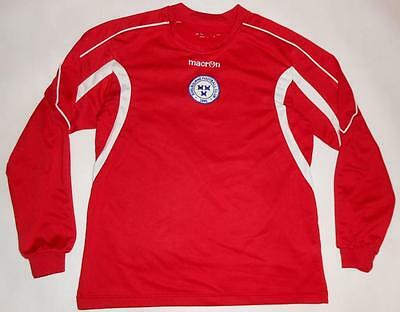 TRAINING SHIRT MACRON SHELBOURNE - LONG SLEEVE (XS) Jersey Trikot Maillot