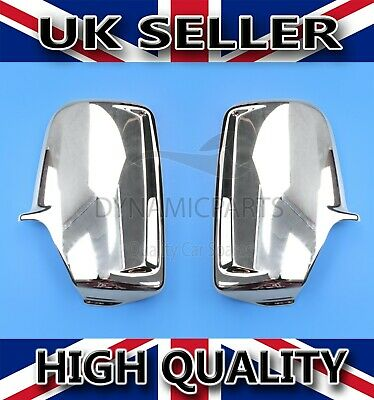 Vw Crafter, Mercedes Sprinter Chrome Wing Mirror Covers Abs 2006-2017