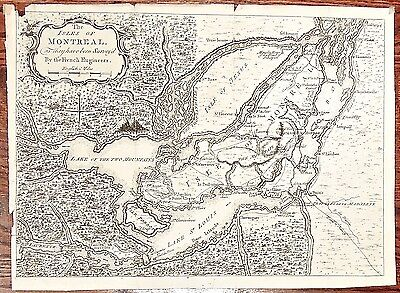 Isles of Montreal ... Survey'd By the French Engineers. London Mag. 1761