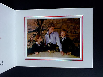 1993 PRINCESS DIANA SIGNED AUTOGRAPH Christmas card with lovely inscription