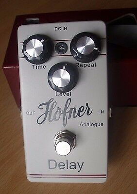 Hofner Analogue Delay, Guitar Effects Pedal