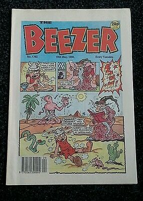 Beezer Comic issue 1792 - May 1990