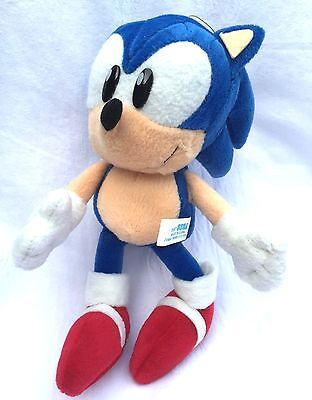 SEGA Sonic The Hedgehog Fighters Sonic Soft Plush Toy Doll Figure Game