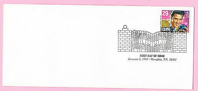 USA 1993 First Day Cover - ELVIS PRESLEY - Cancelled GRACELANDS Memphis TN 38102