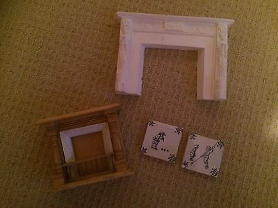 Dolls house fireplaces