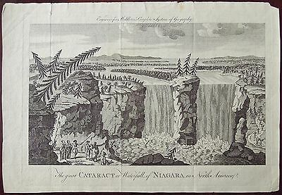 Great Cataract or Waterfall of Niagara N. Ame., Middleton, after Hancock 1778-79