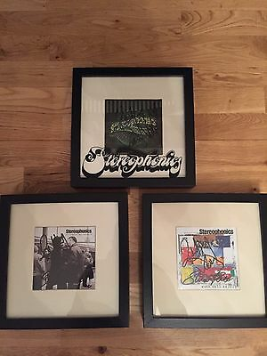 Stereophonics Signed Album Covers In Presentation Frames All Original Members