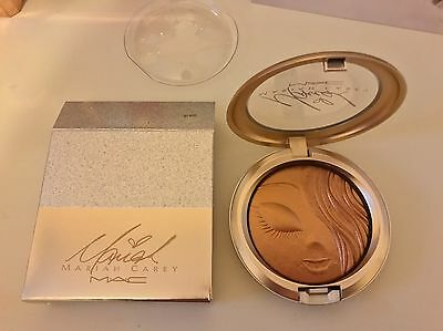 New Mac Mariah Carey Extra Dimension Skinfinish My Mimi Gold Highlighter Soldout