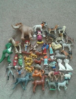 35 various figures and animals