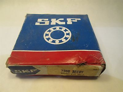 SKF Bearing Angular Contact 7308 BECBY