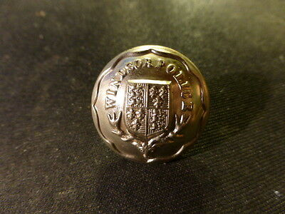 Windsor Police Large Button
