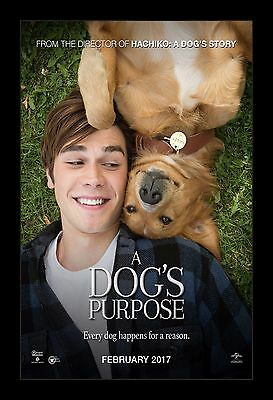 A DOG'S PURPOSE  framed movie poster 11x17 Quality Wood Frame