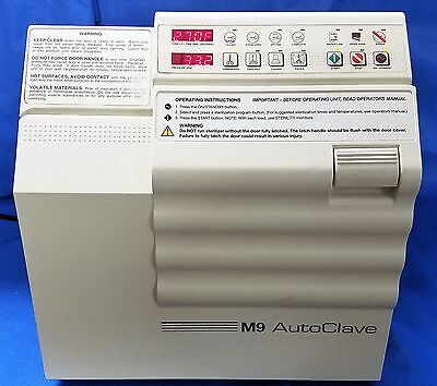 Midmark M9 Autoclave Sterilizer Ritter UltraClave (Dental, Medical)