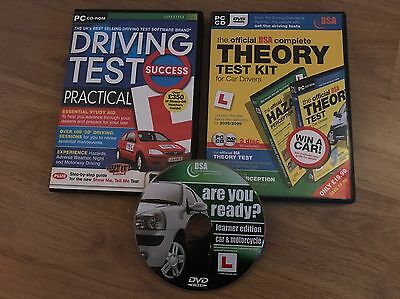 Driving And Therory Test CD's