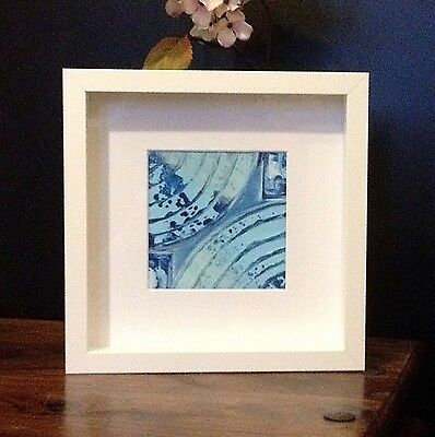 Original Abstract Painting Fine Art Framed With Decorated Gift Box Wall Art Deco