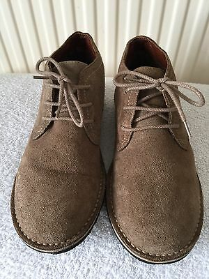 Mens/womens Sand Real Suede Lace Up Desert Boots Size 6