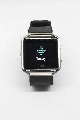 Fitbit blaze *w/strap & charger* Smartwatch activity tracker *FREE FAST P&P*