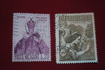 Vatican Used Stamps x 2
