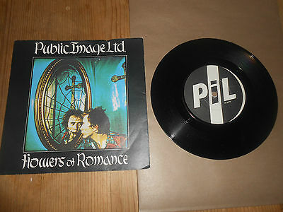 public image limited/ john lydon flowers of romance           7 inch Vinyl