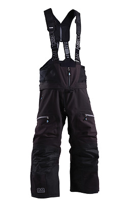 Tobe 2.0 Outerwear Contego Bib Jet Black Md Lg Xl Pants Medium Large Extra Bibs