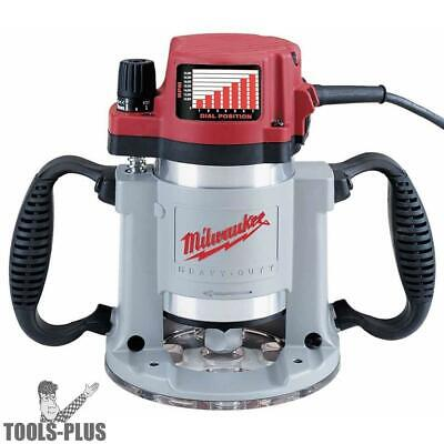 3-1/2 Max HP Fixed-Base Production Router Milwaukee 5625-20 New