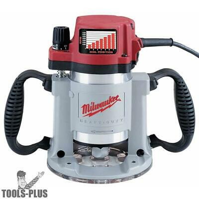 Milwaukee 5625-20 3-1/2 Max HP Fixed-Base Production Router New