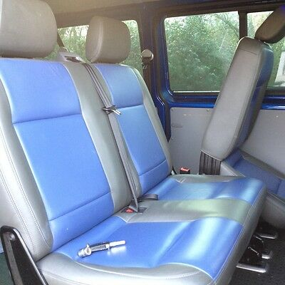 vw t5 rear leather seats