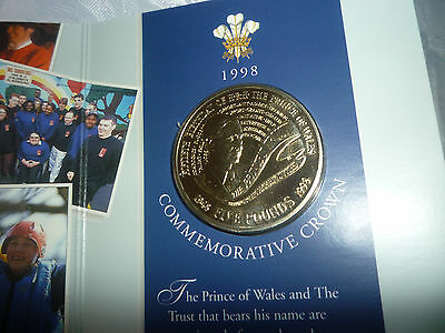 HRH The Price of Wales 50th birthday crown 1948 - 1998