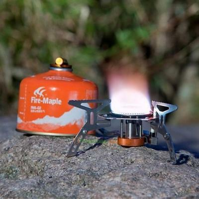 Fire Maple FMS-105 Camping Gas Stove Outdoor Cooking Foldable Split Burner 2600W