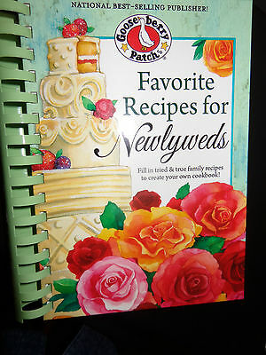 Gooseberry Patch Favorite Recipes for Newlyweds Cookbook NEW