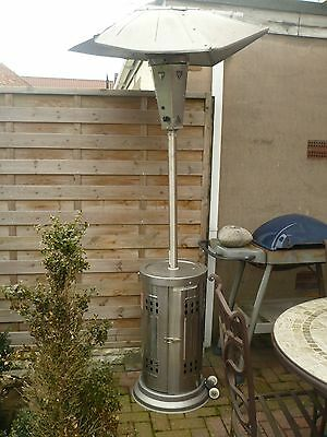 gas patio heater/stainless steel