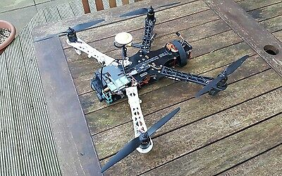 TBS Discovery Quadcopter Naza v2 gps and fpv video transmitter and camera