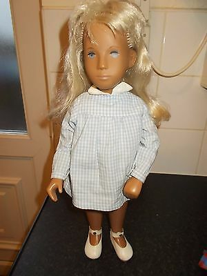Sasha Doll Blonde Gingham Dress Plus 3 Other Outfits