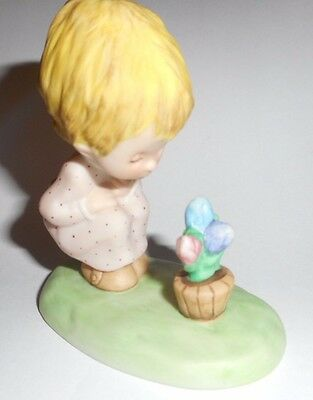 Vintage 1979 The Betsy Clark Collection Figurine Tulips # 113 / 2 VGC